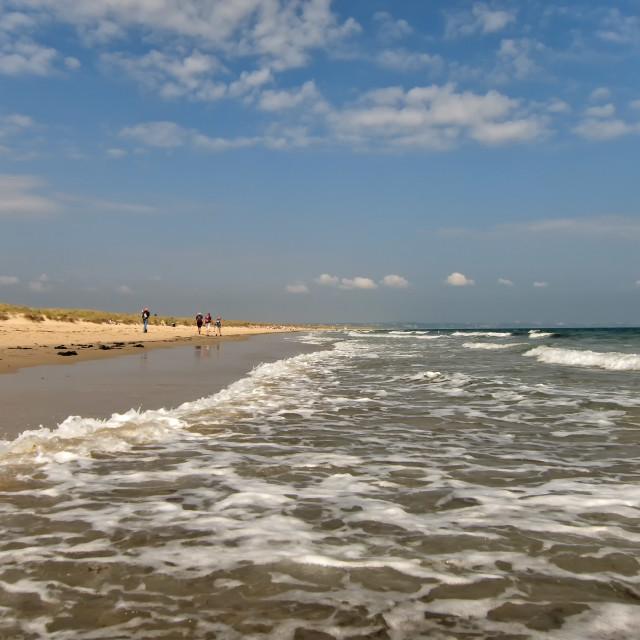 """Studland Beach"" stock image"