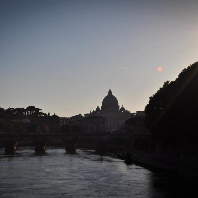 """Basilica di San Pietro"" stock image"