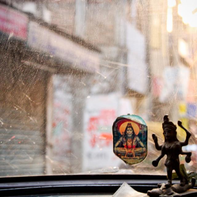 """Another Kolkata Street Scene"" stock image"