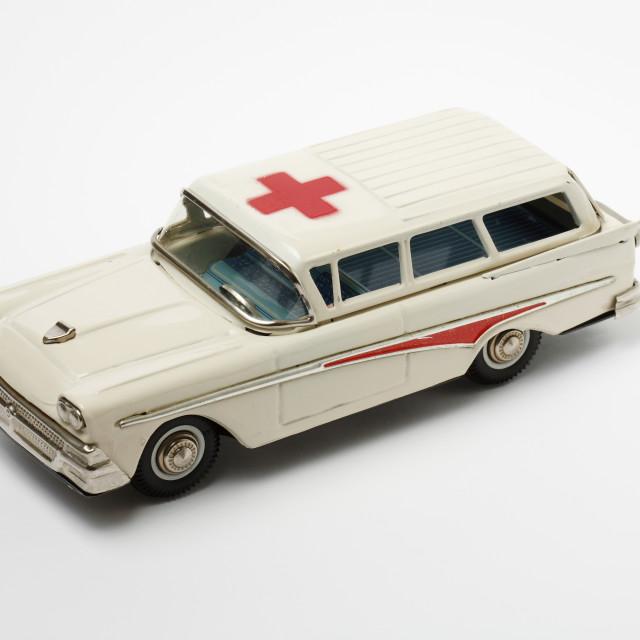 """""""Toy Ambulance"""" stock image"""