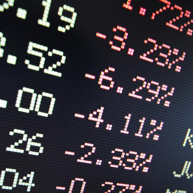 """Bear market"" stock image"