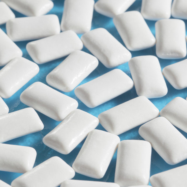 """""""Chewing gum"""" stock image"""