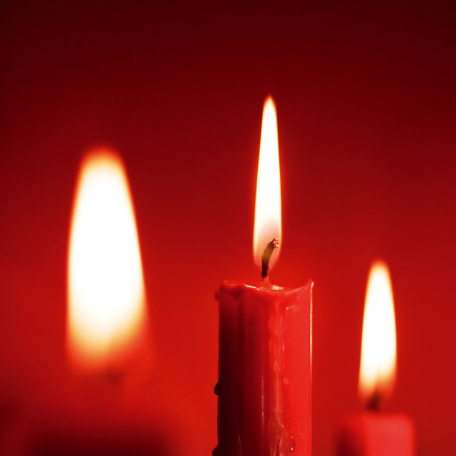 """Candles"" stock image"