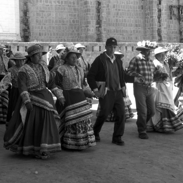 """""""Peruvian Festival"""" stock image"""