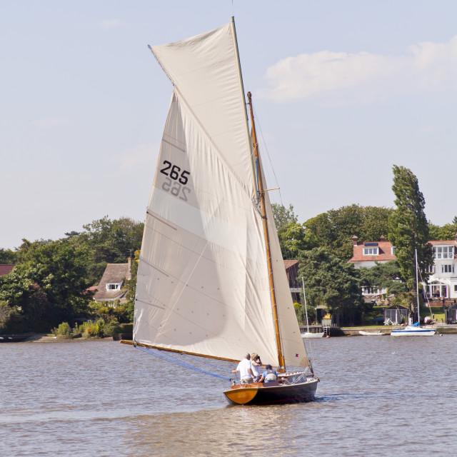 """Sailing boat"" stock image"