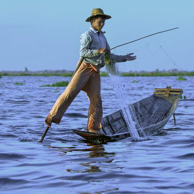 """young fisherman"" stock image"