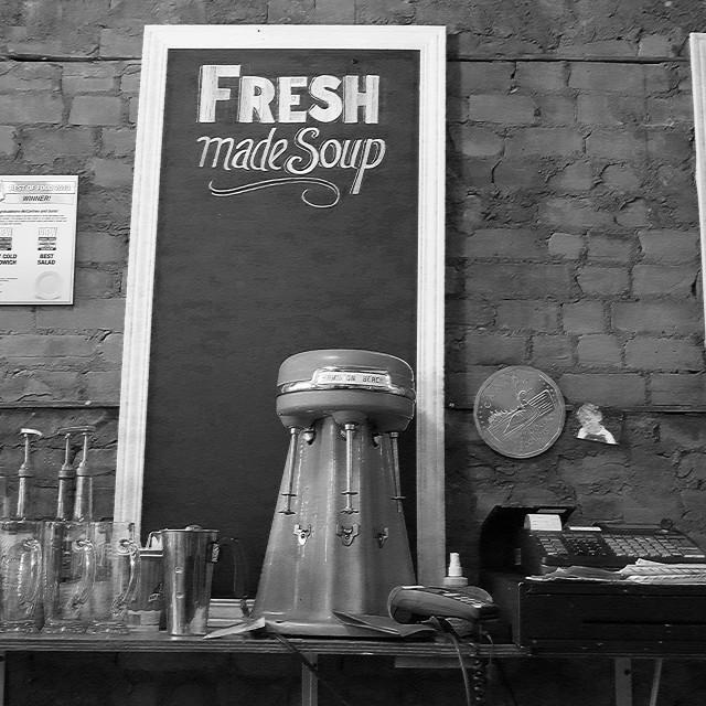 """Fresh Made Soup"" stock image"