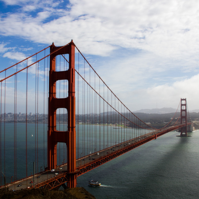 """The Golden Gate Bridge"" stock image"