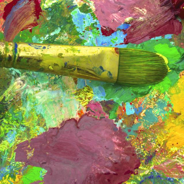"""""""Artist's Palette"""" stock image"""