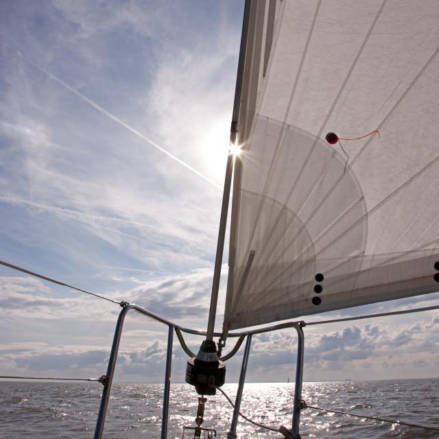 """Sailing"" stock image"