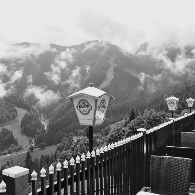 """""""Mountain Pub"""" stock image"""