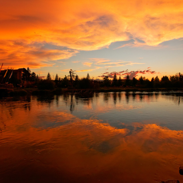 """Deschutes River, Bend, Oregon"" stock image"