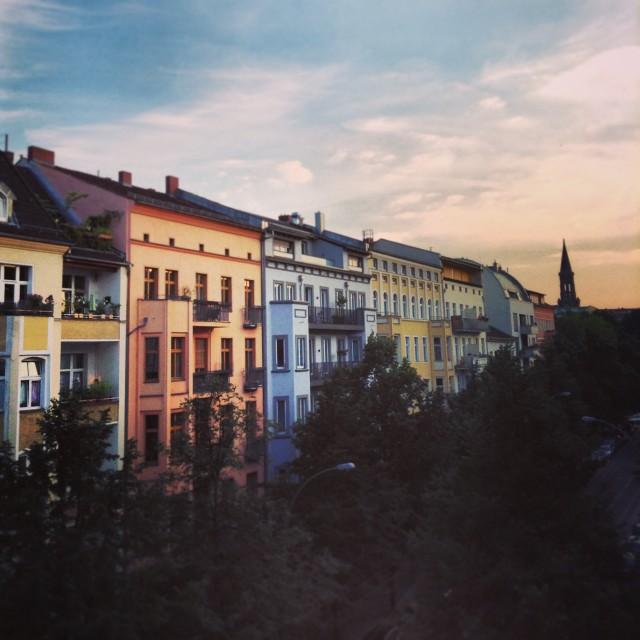 """Berlin Sunrise"" stock image"