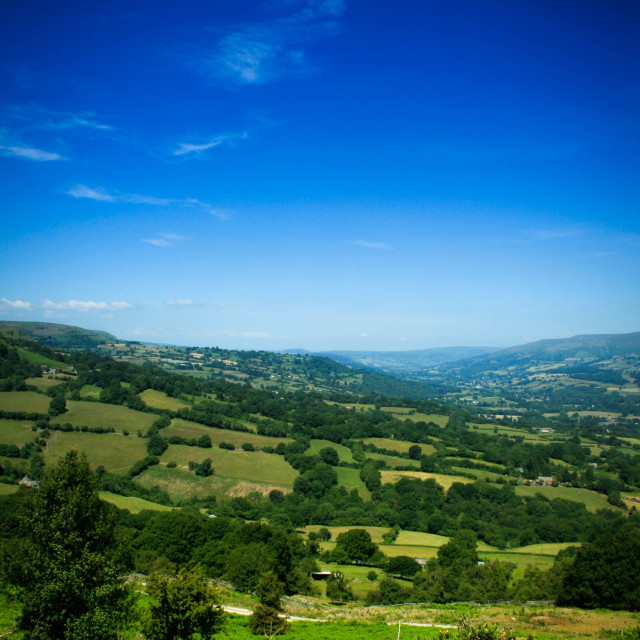 """""""Welsh Countryside"""" stock image"""