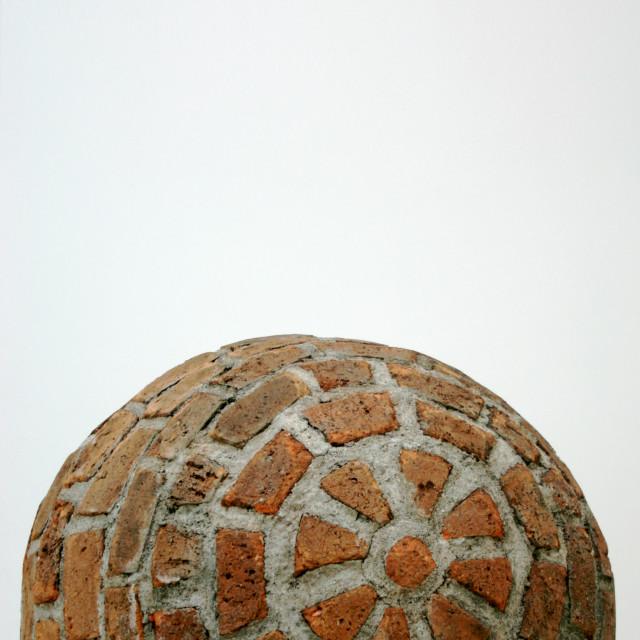 """""""The Brick Sphere"""" stock image"""