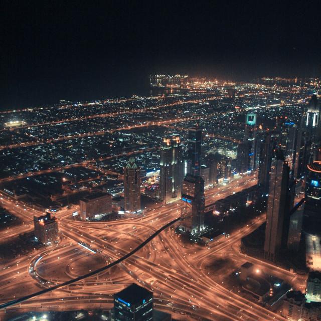 """Burj Khalifa View"" stock image"