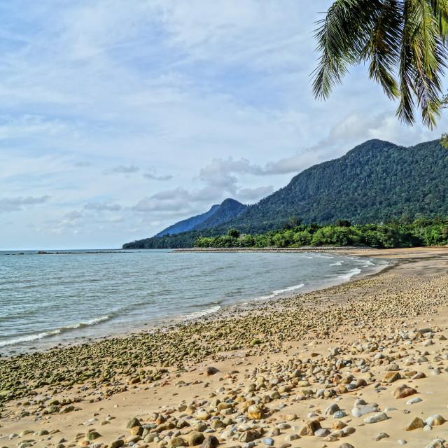 """""""the beach resort"""" stock image"""