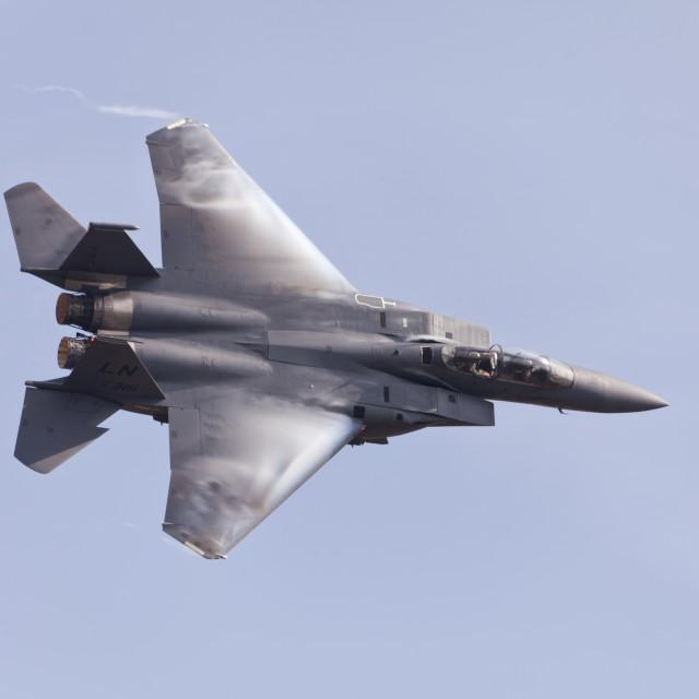 """""""F15, eagle"""" stock image"""