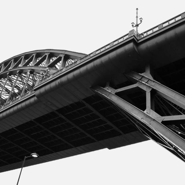 """Tyne Bridge 1"" stock image"