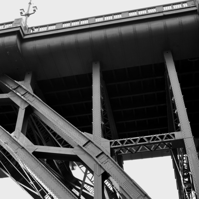 """Tyne Bridge 2"" stock image"
