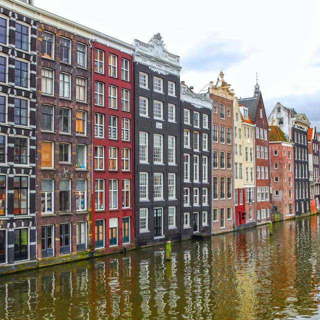 """Amsterdam houses"" stock image"