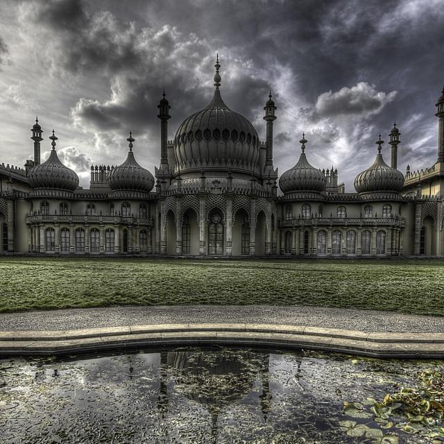 """""""Brighton Pavilion"""" stock image"""