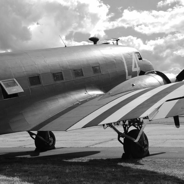 """Douglas C-47A Dakota"" stock image"