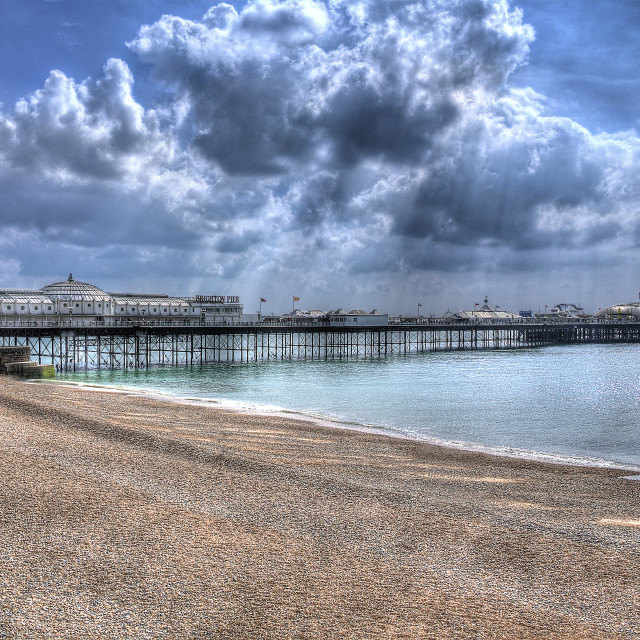 """Brighton Pier"" stock image"