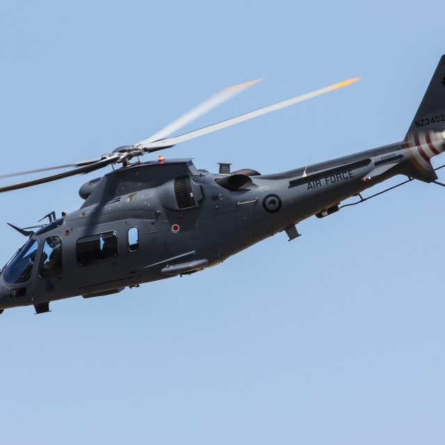 """""""Agusta Westland helicopter"""" stock image"""