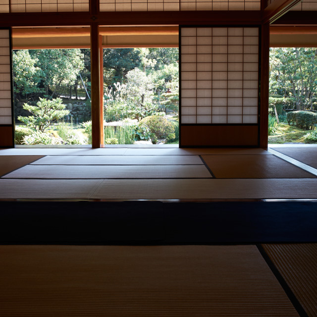 """Traditional Japanese room"" stock image"