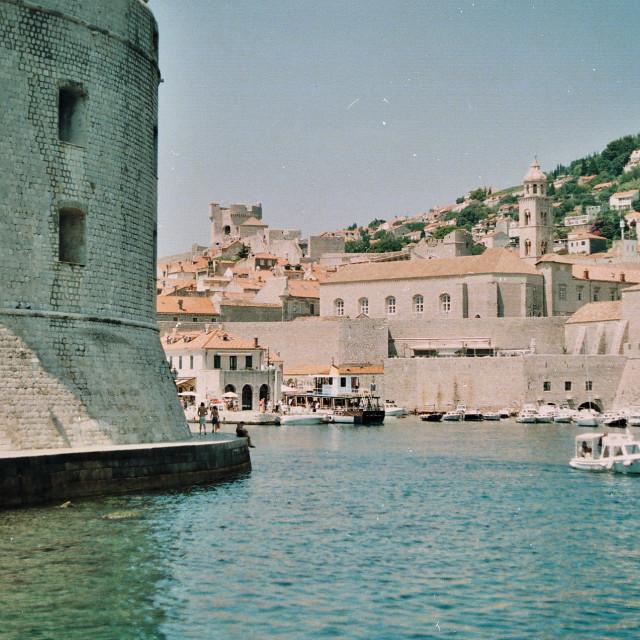 """Dubrovnik Harbour"" stock image"