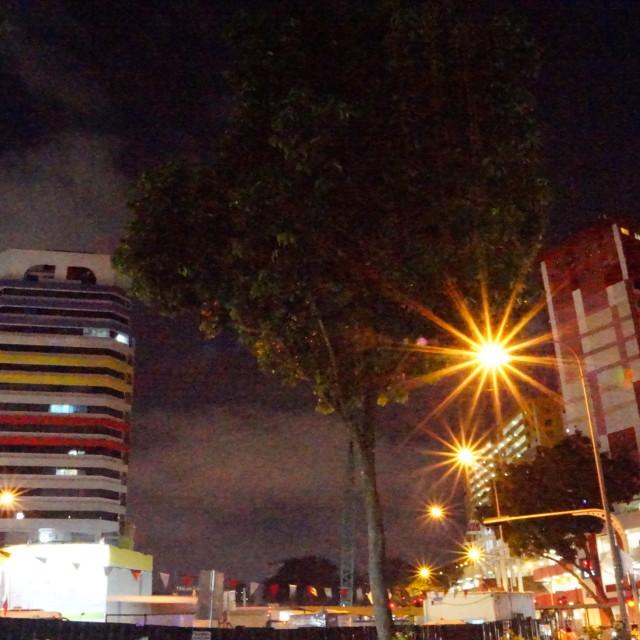 """""""Singapore skyline..."""" stock image"""