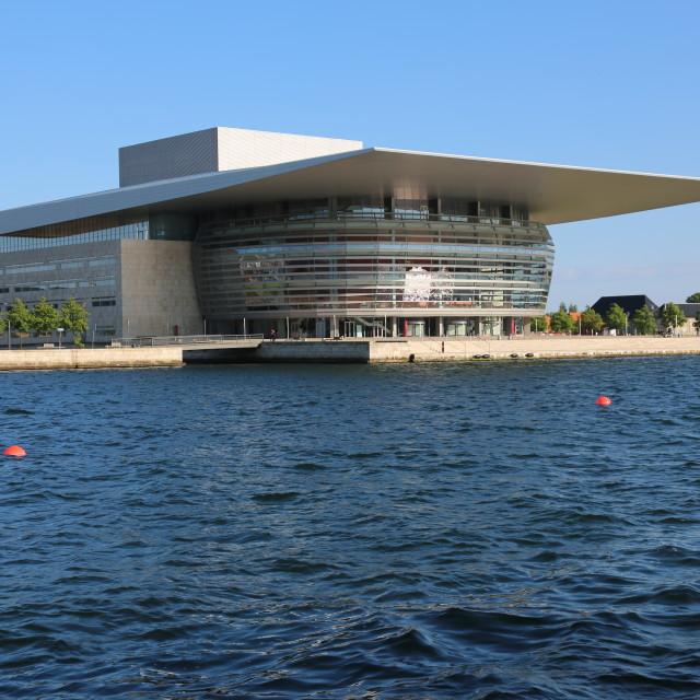 """Royal Copenhagen Operahouse"" stock image"
