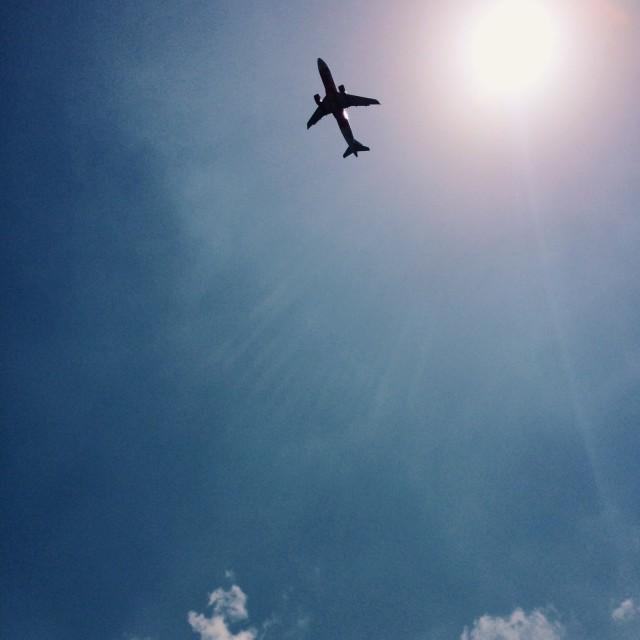 """Plane"" stock image"