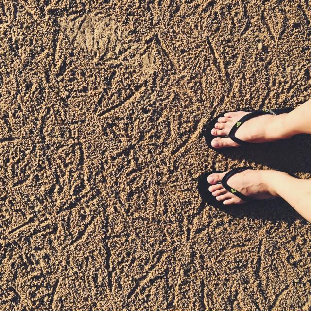 """Feet Pt 2"" stock image"