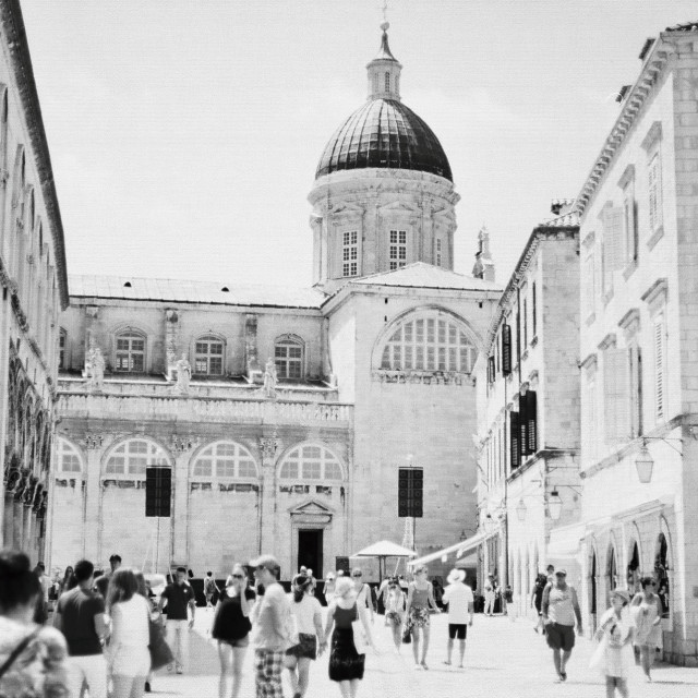 """""""Dubrovnik Old Town"""" stock image"""