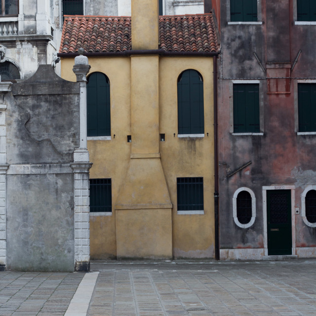 """Venice buildings"" stock image"