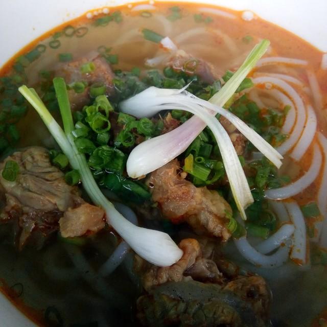 """""""Vietnamese beef noodle"""" stock image"""
