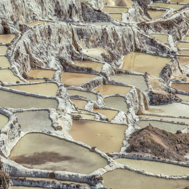 """""""Salt mines"""" stock image"""