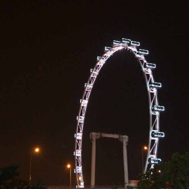 """""""Singapore Eye"""" stock image"""