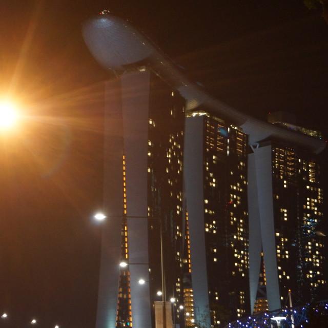 """Marina Bay Sands..."" stock image"