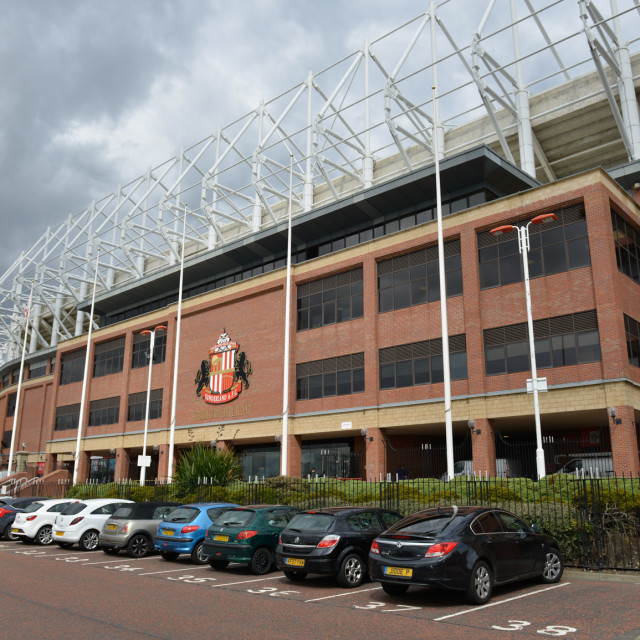 """Stadium of Light 7"" stock image"