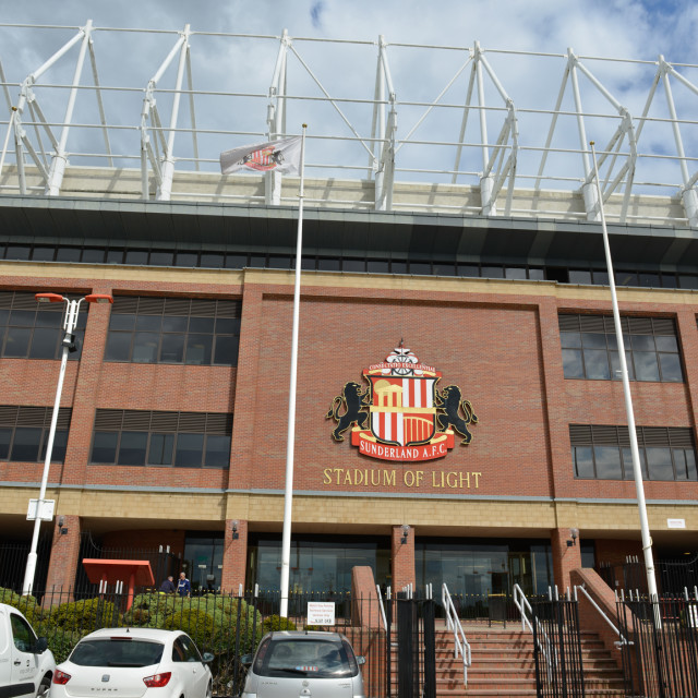 """Stadium of Light 2"" stock image"