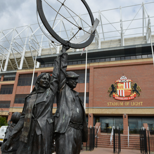 """Stadium of Light 6"" stock image"
