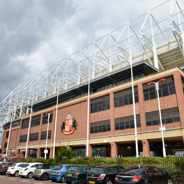 """Stadium of Light 8"" stock image"