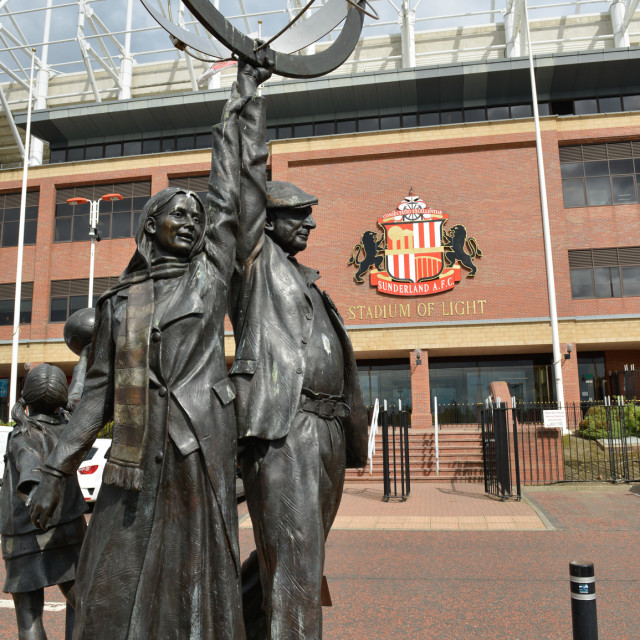 """Stadium of Light 4"" stock image"