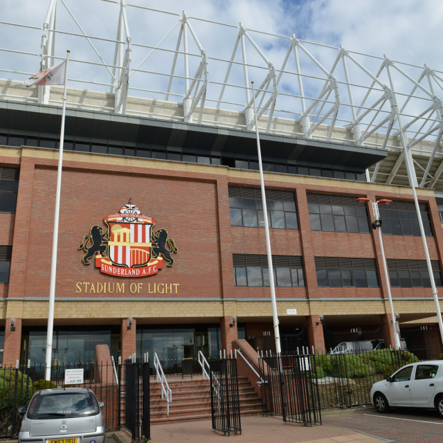 """Stadium of Light 3"" stock image"