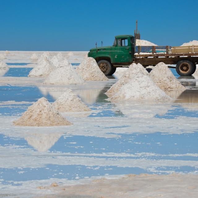 """""""Salar de Uyuni, Bolivia"""" stock image"""