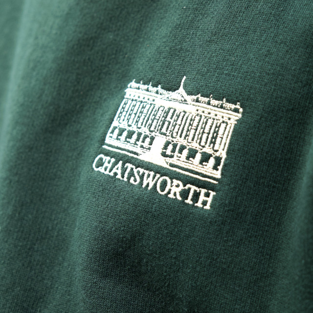 """Chatsworth House ,Derbyshire ."" stock image"