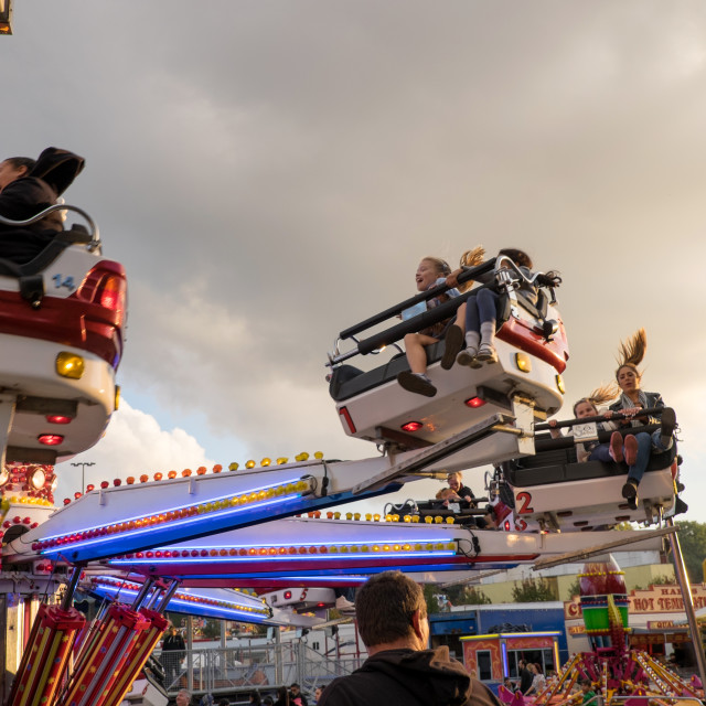 """Goose Fair Nottingham ."" stock image"